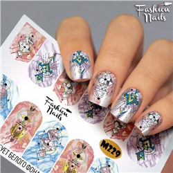 Fashion Nails, Слайдер-дизайн M229