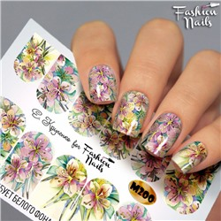 Fashion Nails, Слайдер-дизайн M200
