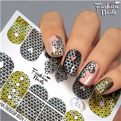 Fashion Nails, Слайдер-дизайн G56