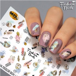 Fashion Nails, Слайдер-дизайн M286