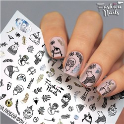 Fashion Nails, Слайдер-дизайн G80