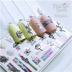 Fashion Nails, Слайдер-дизайн 3D/98