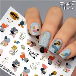 Fashion Nails, Слайдер-дизайн M288