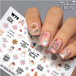 Fashion Nails, Слайдер-дизайн W78