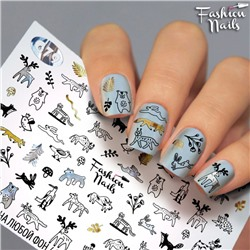 Fashion Nails, Слайдер-дизайн G79