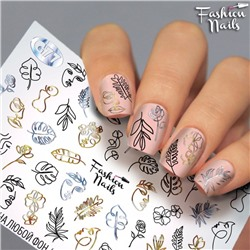 Fashion Nails, Слайдер-дизайн G77