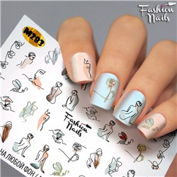Fashion Nails, Слайдер-дизайн M283