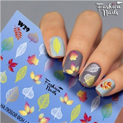 Fashion Nails, Слайдер-дизайн W29