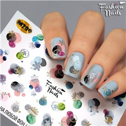 Fashion Nails, Слайдер-дизайн M289