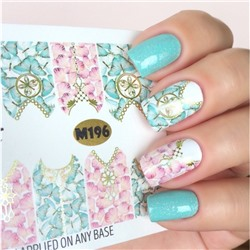Fashion Nails, Слайдер-дизайн M196