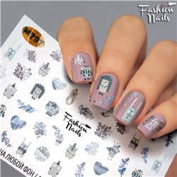 Fashion Nails, Слайдер-дизайн M287