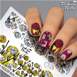 Fashion Nails, Слайдер-дизайн G32